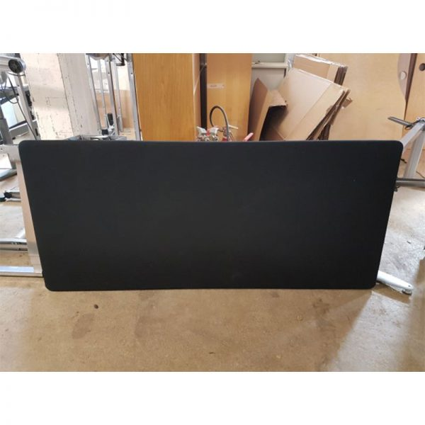 Begagnade bordsskärmar i svart 160x64 cm