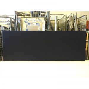 Begagnade bordsskärmar i svart 180x60 cm