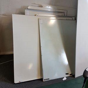 Begagnade whiteboards 120x90 cm